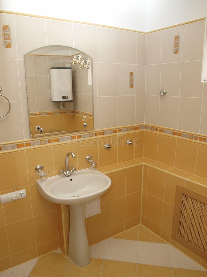 Banheiro interior foto de stock