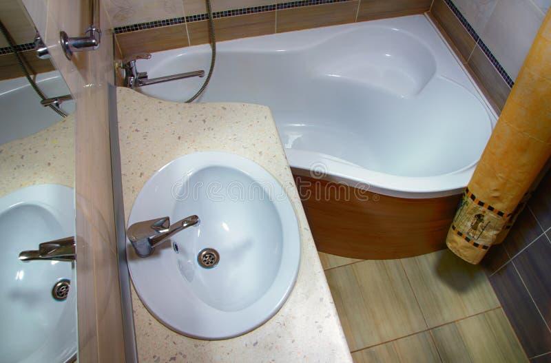 Banheiro interior foto de stock royalty free