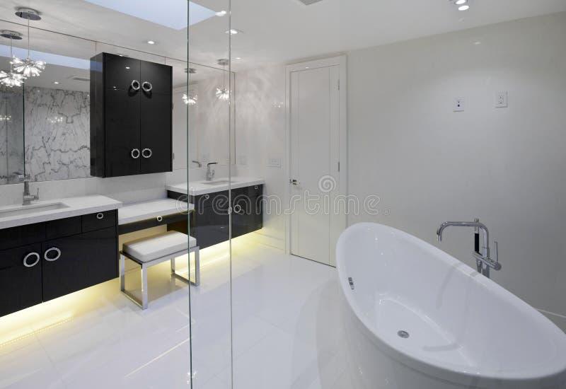 Banheiro mestre foto de stock