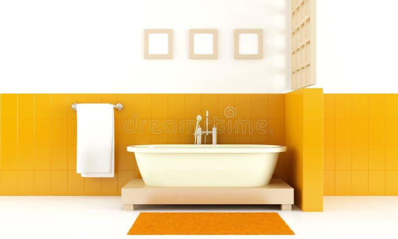 Banheiro moderno do estilo ilustração royalty free