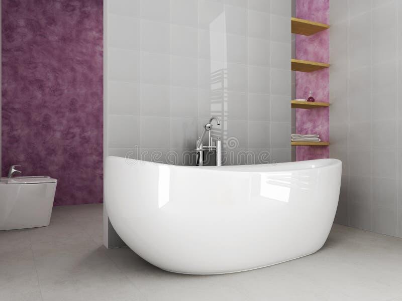 Banheiro novo ilustração royalty free