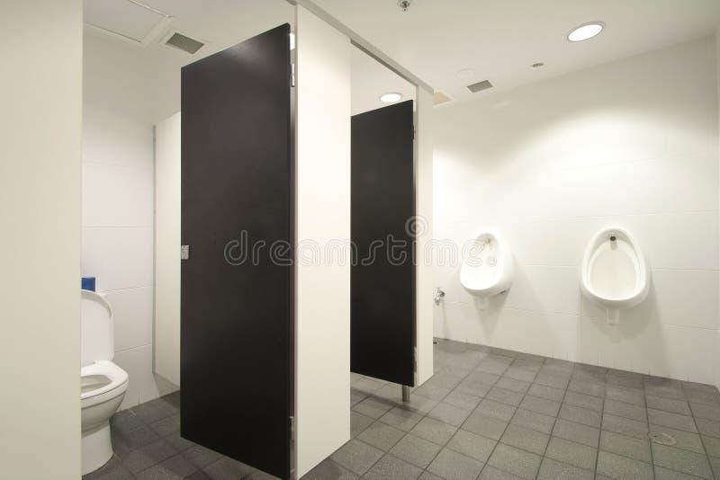 Banheiros masculinos imagem de stock royalty free