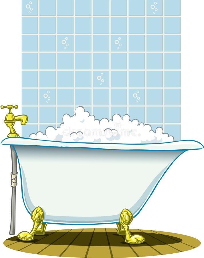 Banho ilustração royalty free