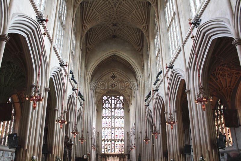 Banho Abbey Church Ceiling foto de stock royalty free