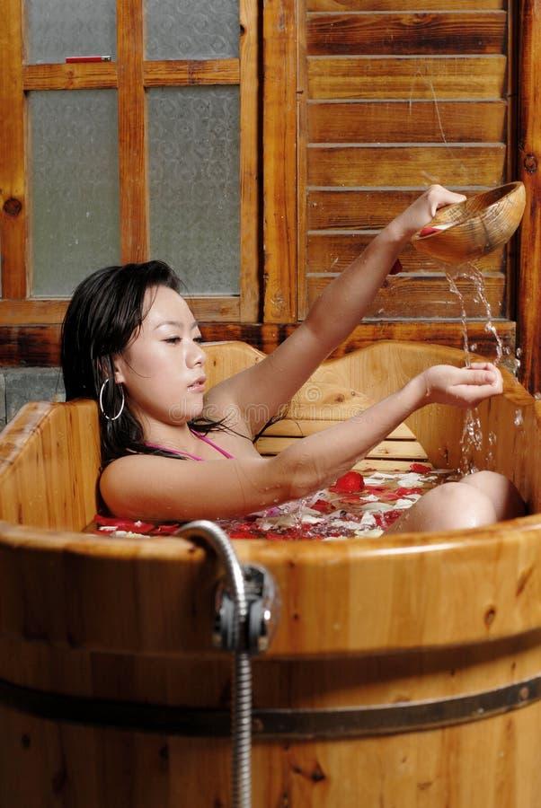 Banho da pétala fotografia de stock royalty free