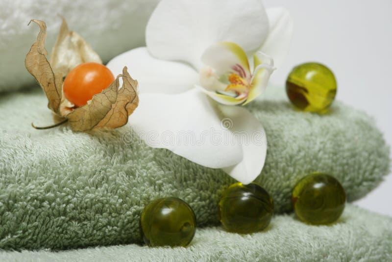 Banho exótico imagens de stock