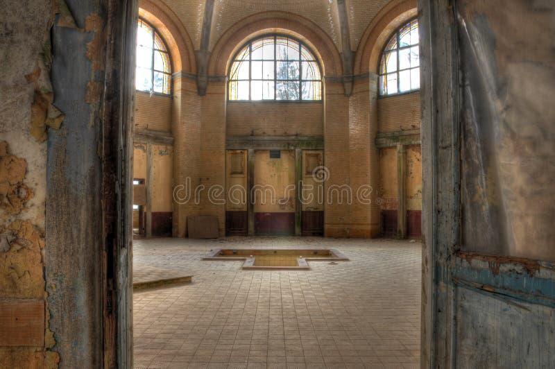 Banho no Beelitz Heilstaetten fotografia de stock