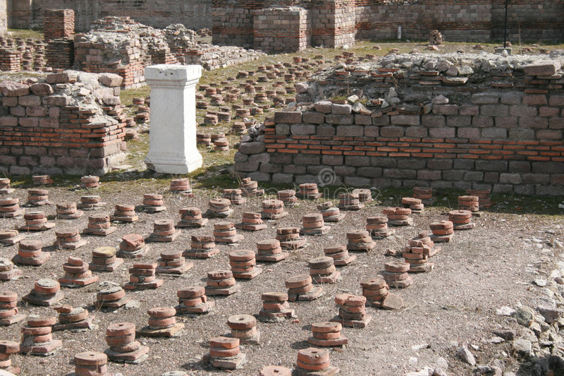 Banho romano imagem de stock royalty free