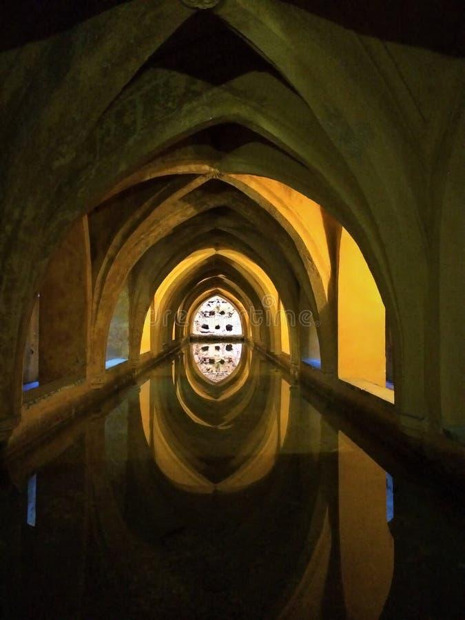 Banhos da senhora MarÃa de Padilla - Sevilha, Espanha foto de stock
