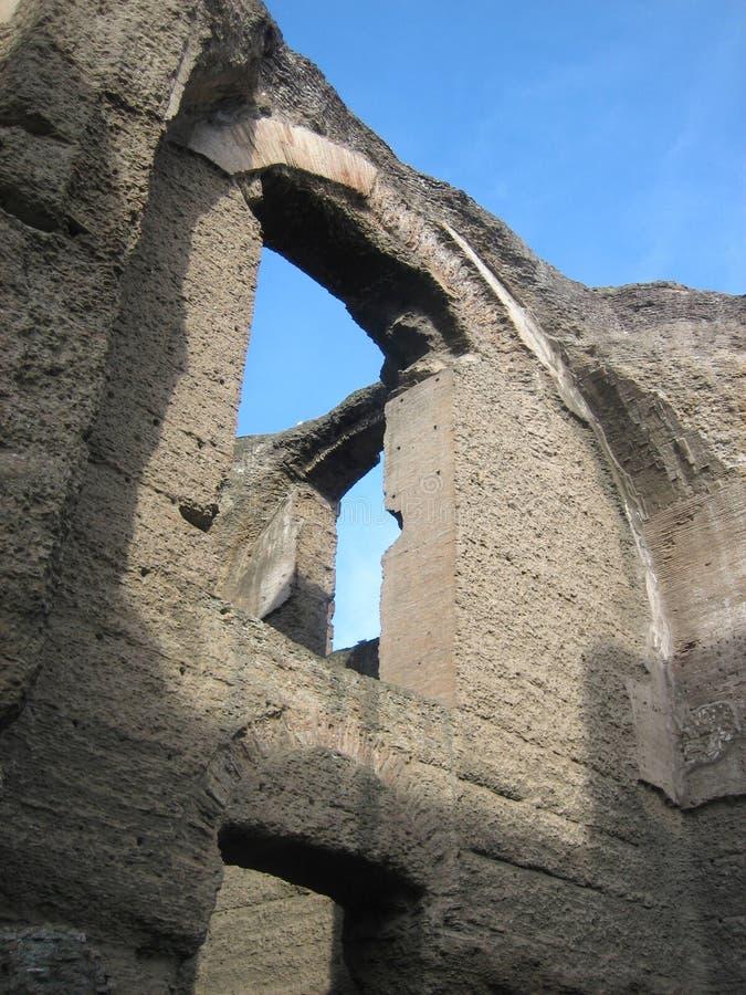 Banhos de Caracalla foto de stock royalty free