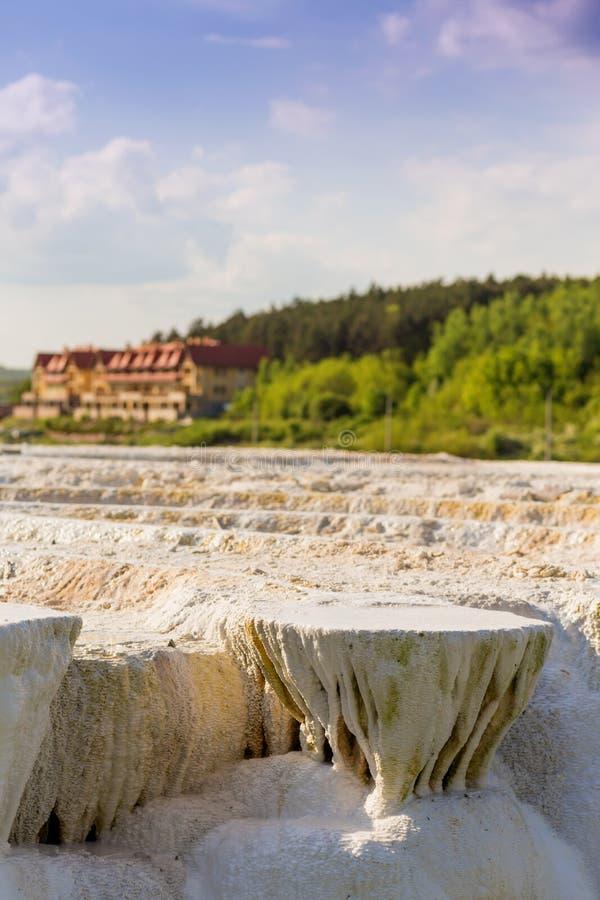 Banhos originais de um sal em Hungria fotos de stock royalty free