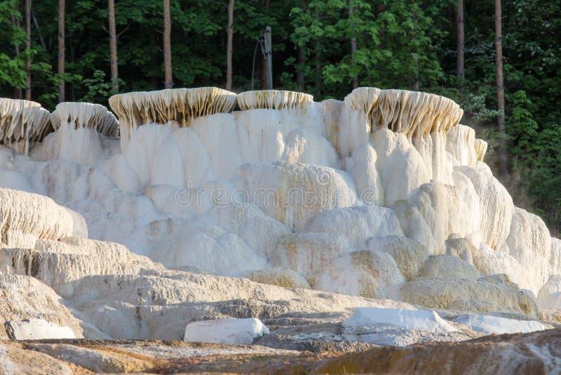 Banhos originais de um sal em Hungria fotos de stock