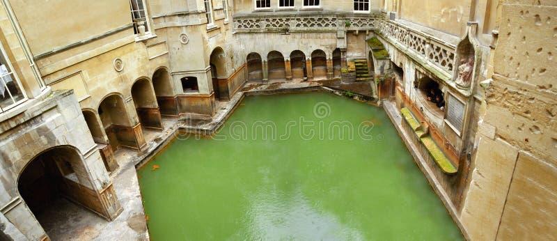 Banhos romanos no banho, Inglaterra fotografia de stock royalty free