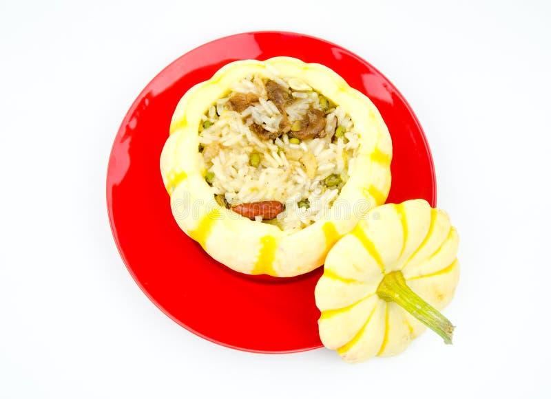 Bania odparowani ryż zdjęcie royalty free