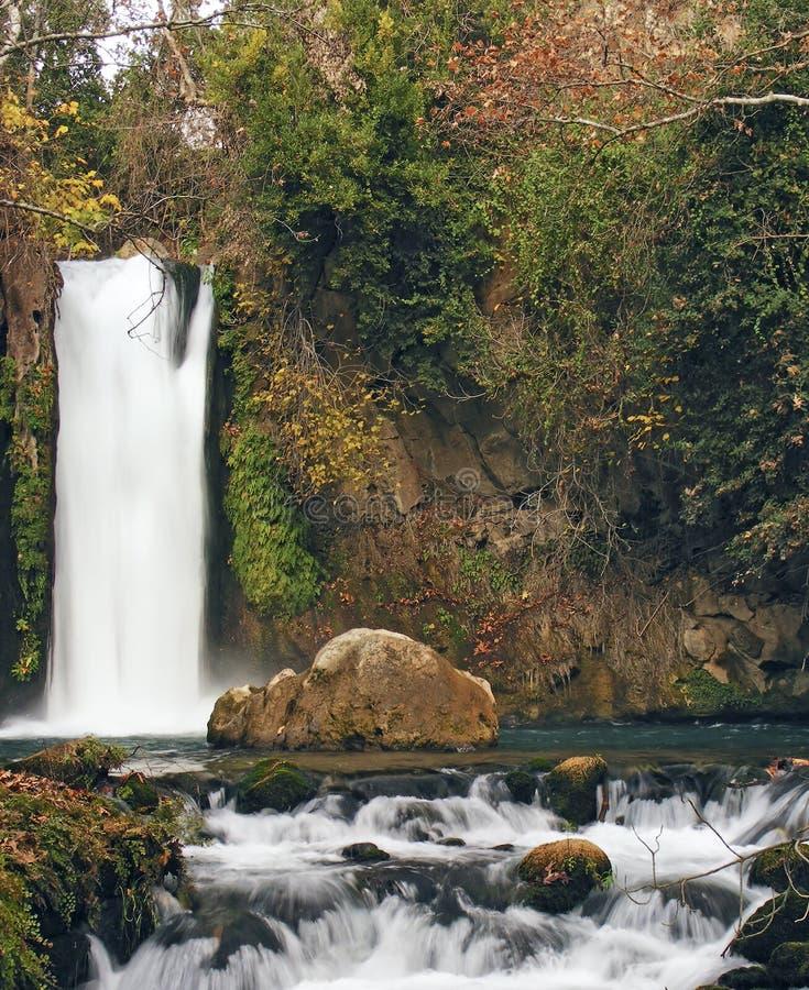 Banias Wasserfall stockfotografie