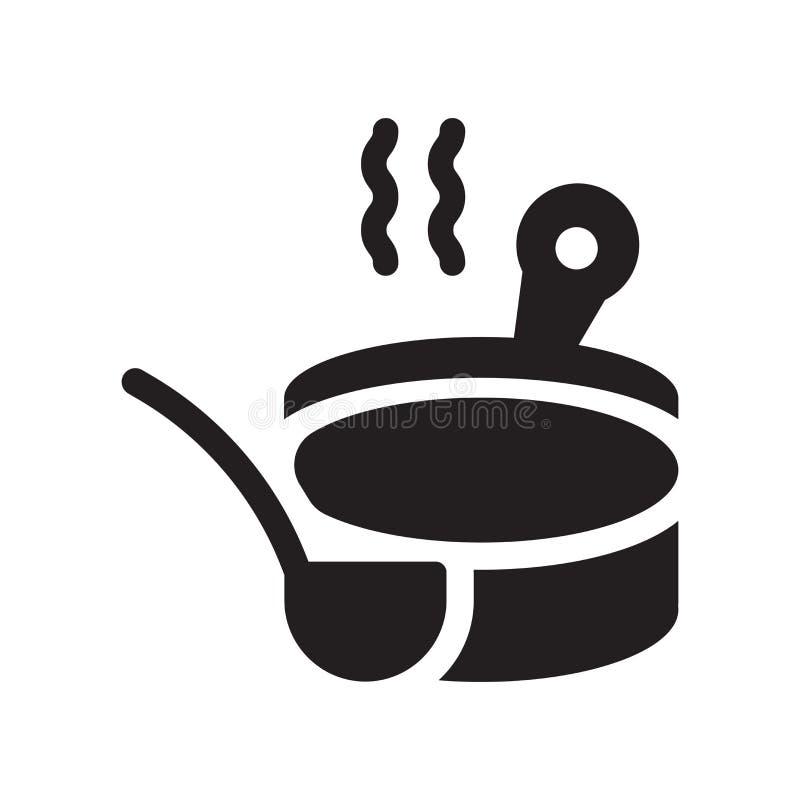 Banja ikona Modny Banja logo pojęcie na białym tle od s ilustracja wektor
