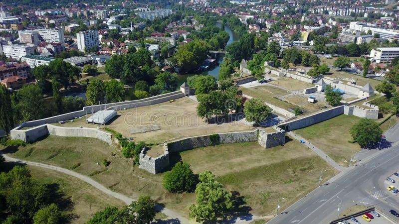 Banja Luka - fortezza Kastel fotografia stock libera da diritti