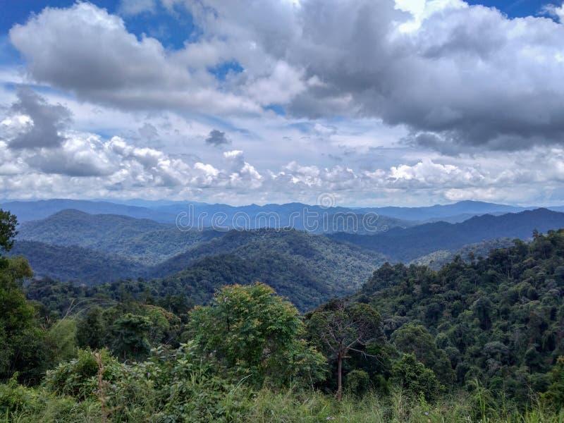 Banjaran Titiwangsa, Malesia immagine stock