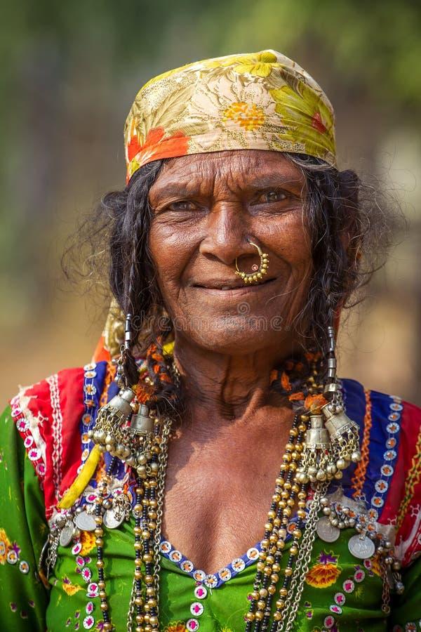 Banjari kobiety portret zdjęcia royalty free