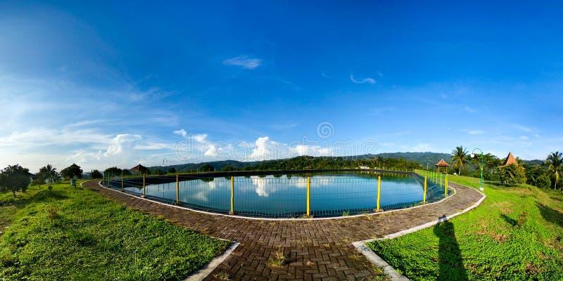 Banjaroya Embung стоковая фотография rf