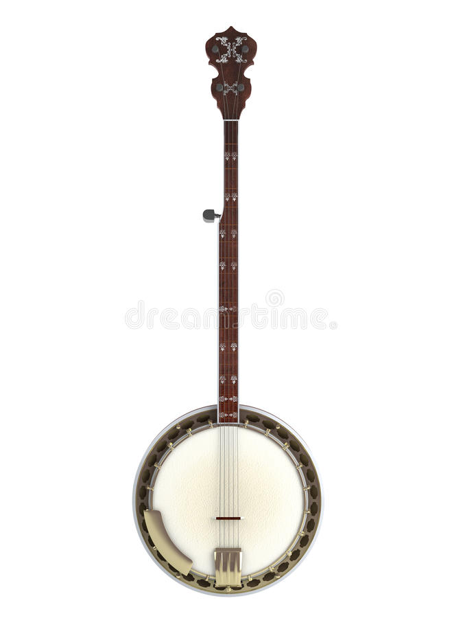 Download Banjo stock illustration. Image of culture, beautiful - 19558959