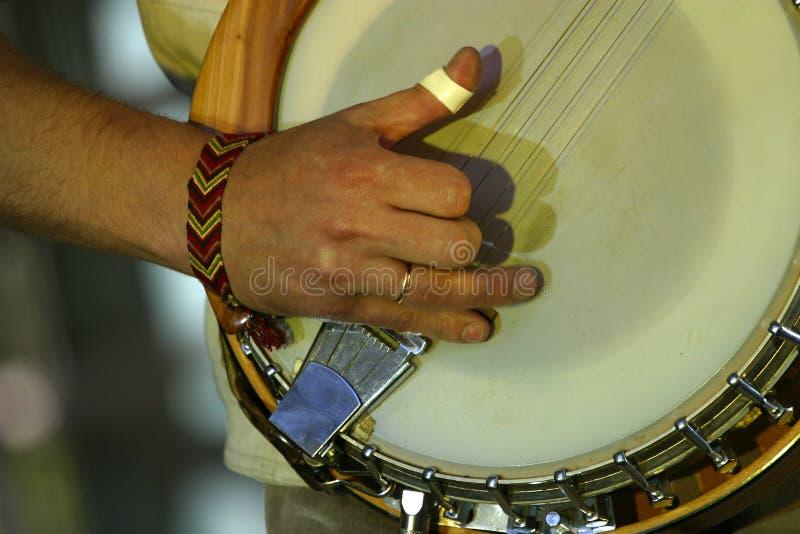 Banjo stockbilder