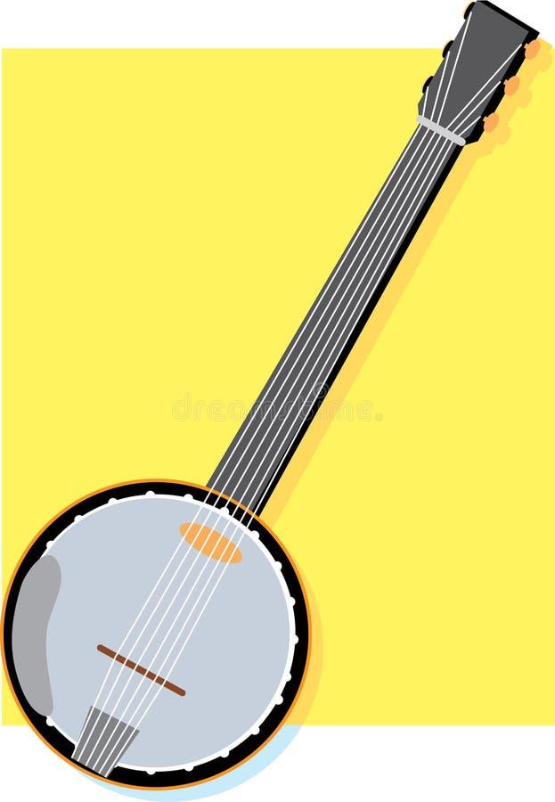 Banjo illustration libre de droits