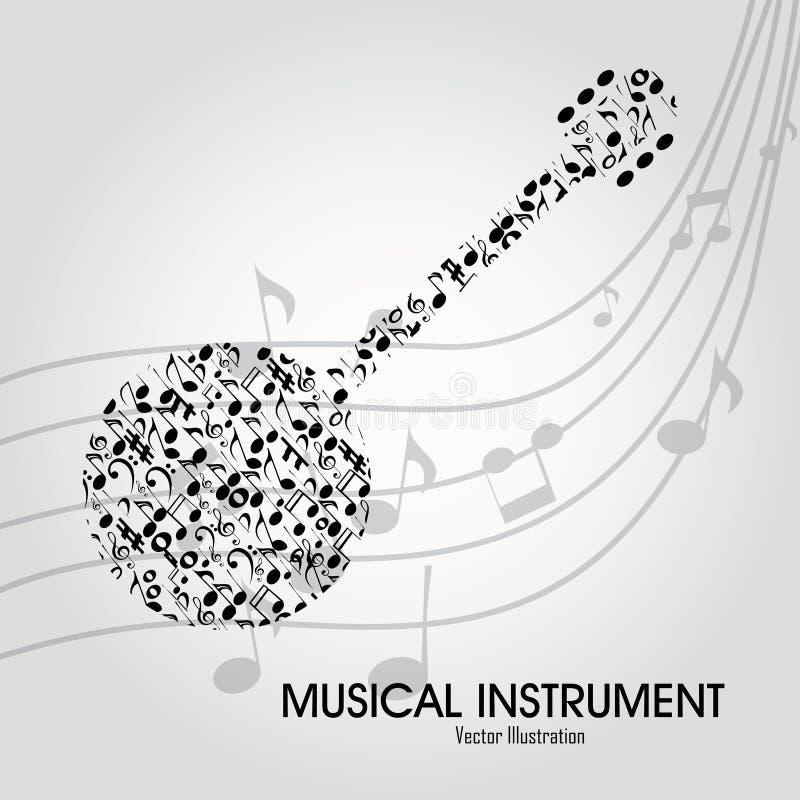 Banjo illustrazione di stock