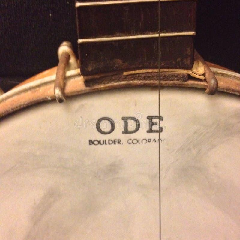 Banjo d'ODE photo stock