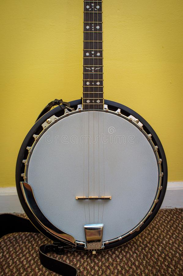 Banjo de cinco cordas fotos de stock royalty free