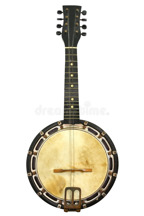 Banjo de cru photo stock