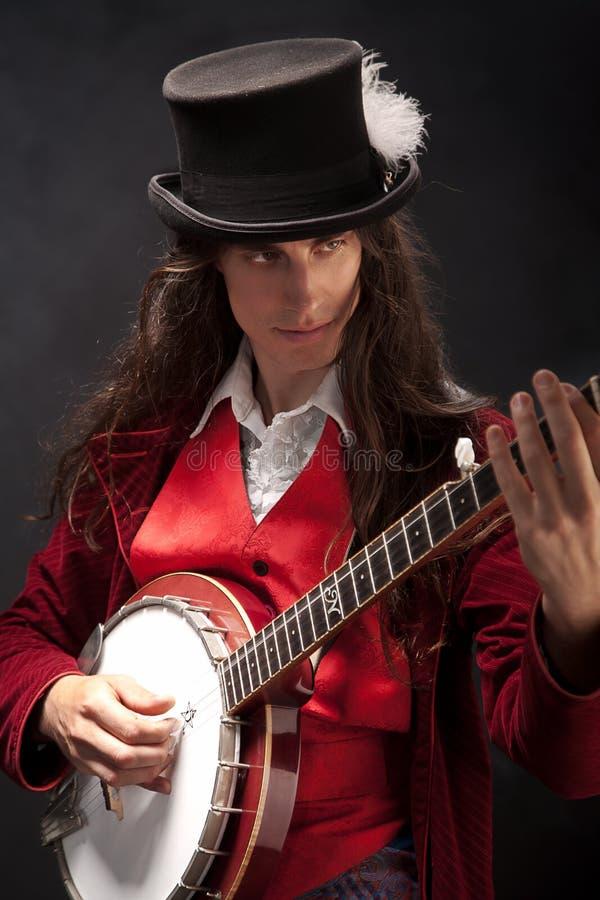 Free Banjo Player Royalty Free Stock Photos - 34186878