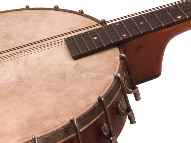 Banjolin antique image stock