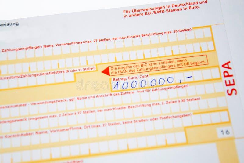 Ziemlich Banküberweisung Formularvorlage Galerie - Die Besten ...