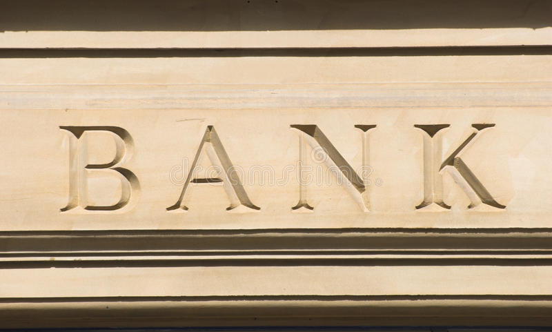 Bank Royalty Free Stock Photos
