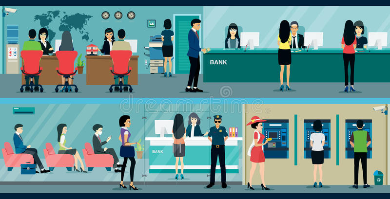 bank ilustracji