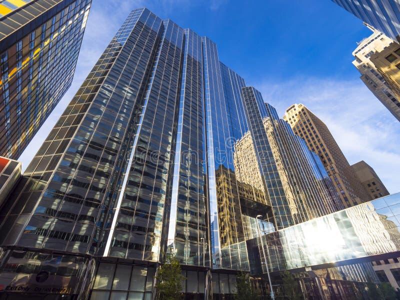 Bank of America las torres de la oficina en el Oklahoma City imágenes de archivo libres de regalías