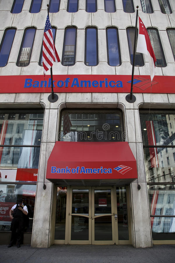 Bank of America royalty free stock photos