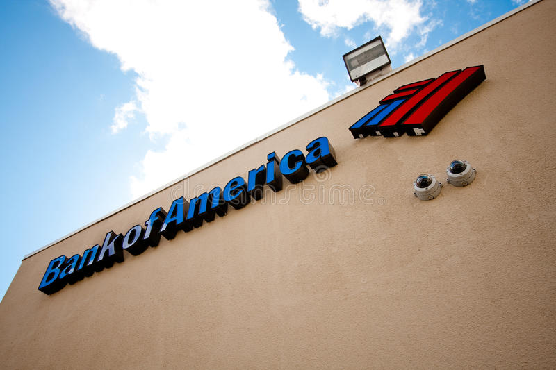 Download Bank of America sign editorial photo. Image of money - 21443886