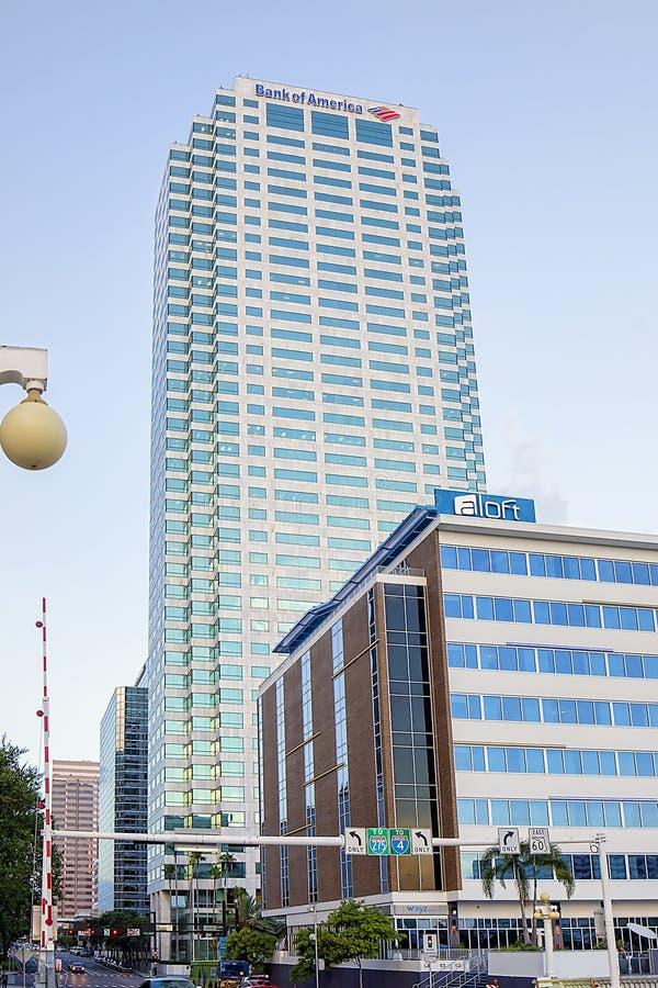 Bank of Amerika-Piazza lizenzfreies stockfoto