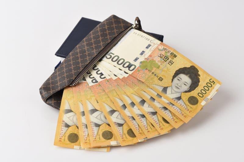 Bank av Korea arkivfoto