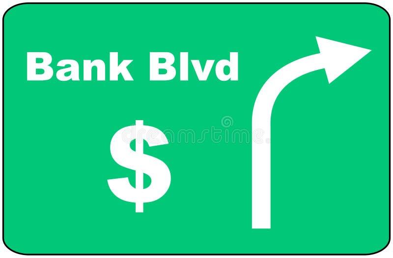 Bank Blvd Sign
