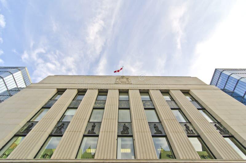 Bank Of Canada, Ottawa, Canada Editorial Photo