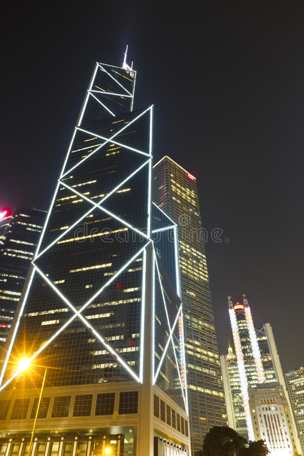 Bank of china Tower stock photos