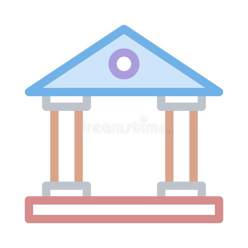 Bank icon royalty free illustration