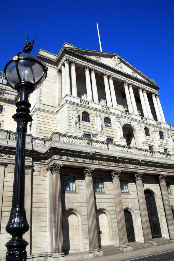 Download Bank Of England stock image. Image of building, blue - 20993901