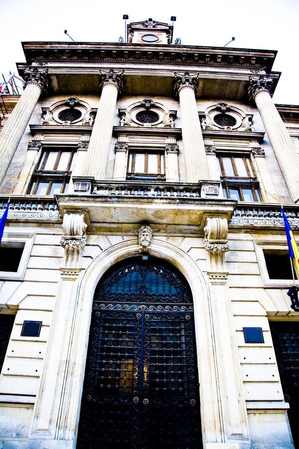 Bank Facade Royalty Free Stock Photo