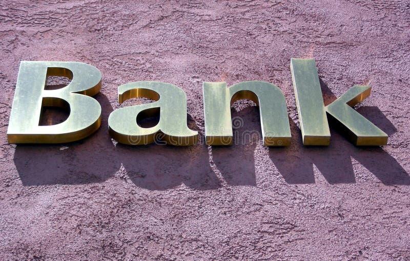 bank gold obrazy stock