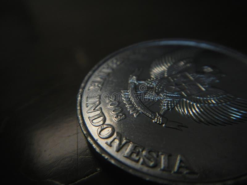Bank Indonezja grawerujący w 200 rupii wyznaniu obraz stock