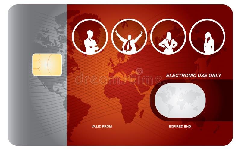 bank karta ilustracja wektor